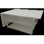 Раскройный стол 2000(800)х1500х900мм , (две нижние полки)
