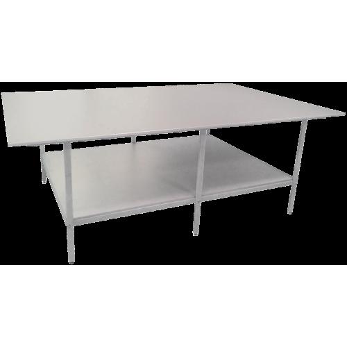 Раскройный стол длина 2500мм (комплект с нижней полкой )