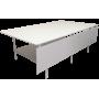 Раскройный стол  2500х1500(500)x900мм (в раскрытом состоянии ширина 2000мм, комплект с нижней полкой )