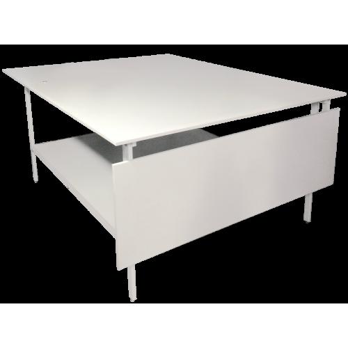 Раскройный стол длина стол раскладной 2000x(800)1600мм (комплект с нижней полкой )