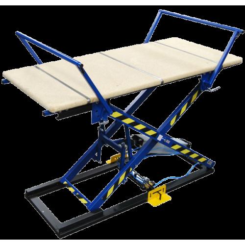 REXEL ST-3/R Пневматический монтажный стол для обивки мягкой мебели с рукавами