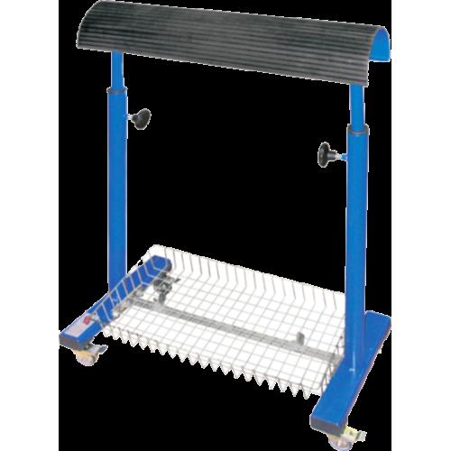 REXEL WK-1 Тележка с 1-й металлической корзиной для швейного цеха