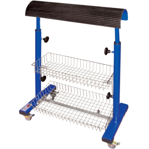 REXEL WK-2  Тележка с двумя металлическими корзинами для швейного цеха
