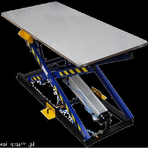 REXEL ST-3/B Пневматический монтажный стол для обивки мягкой мебели со стальной столешницей